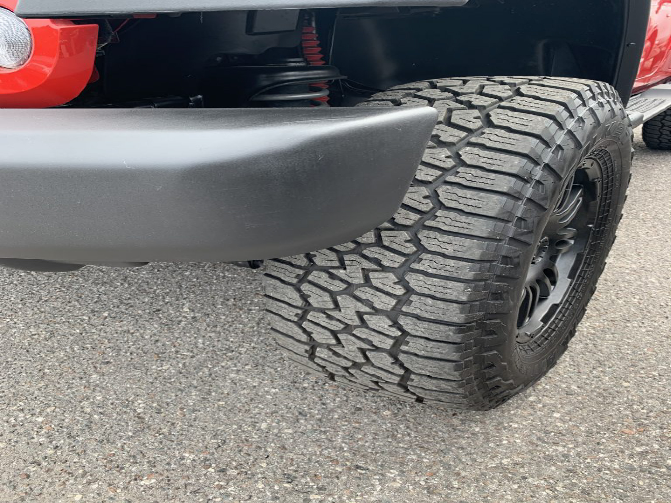 repaired plastic bumper