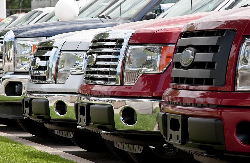 Dealership bumper repair services